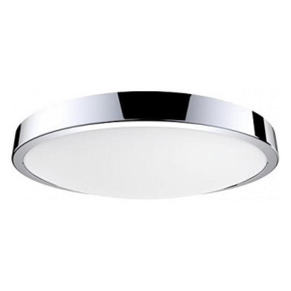 Потолочный светодиодный светильник цвета хром