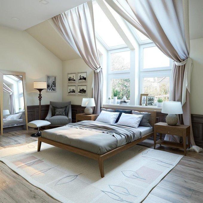 Кровать Fly дуб тонировка 160х200 см