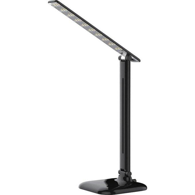 Настольный лампа из пластика черного цвета