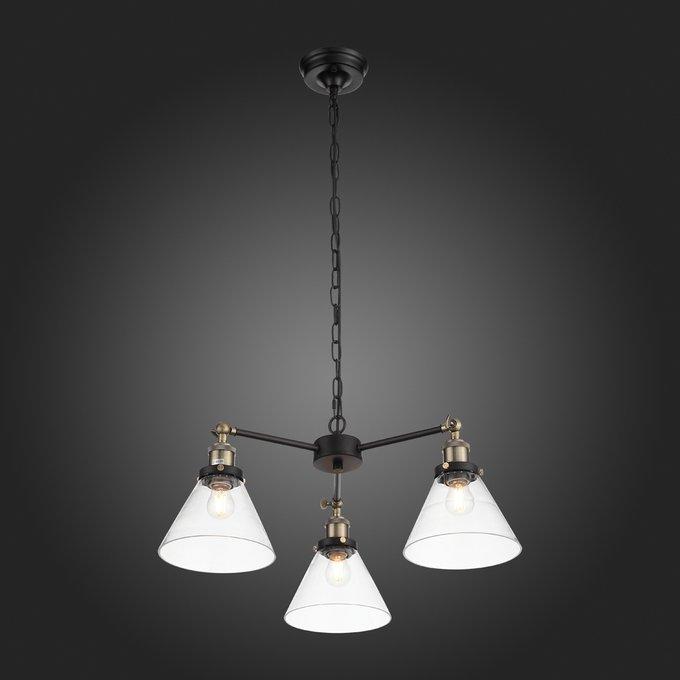 Подвесной светильник Evoluto с прозрачными плафонами