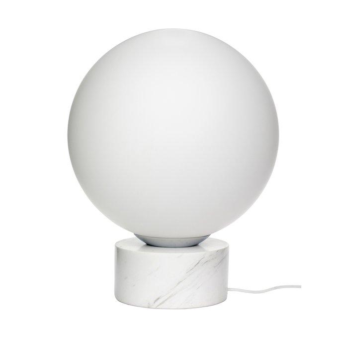 Напольная лампа с белого цвета
