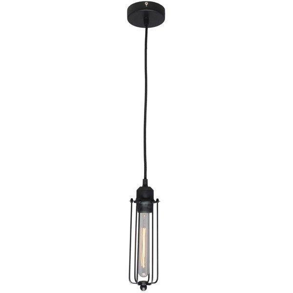 Подвесной светильник Loft VI  черного цвета