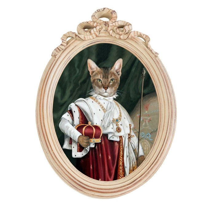 Репродукция Эрмитаж версия 6 Коронация Наполеона