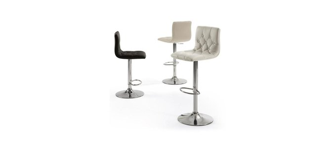 Барный стул Julia Grup Wessex с сиденьем из экокожа