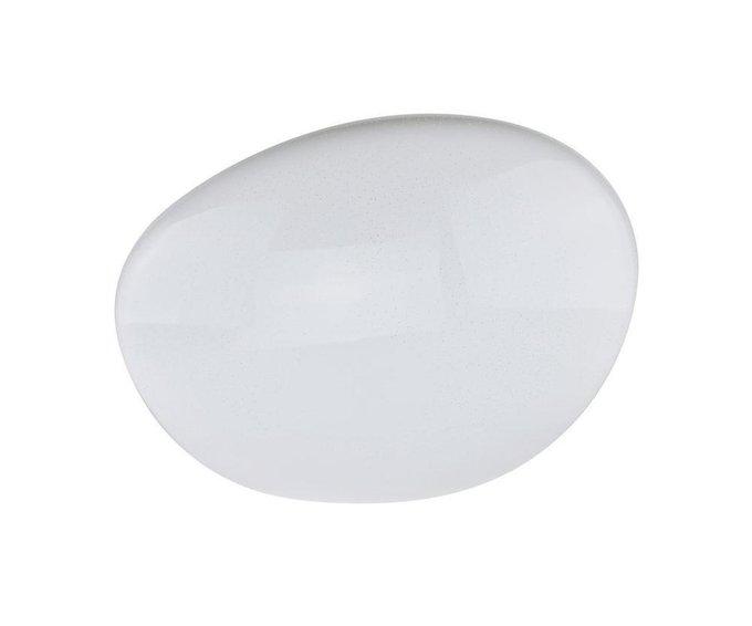 Настенно-потолочный светодиодный светильник Кристалл белого цвета