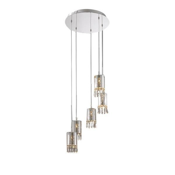 Подвесной светильник DeLight Collection Crystal Tube