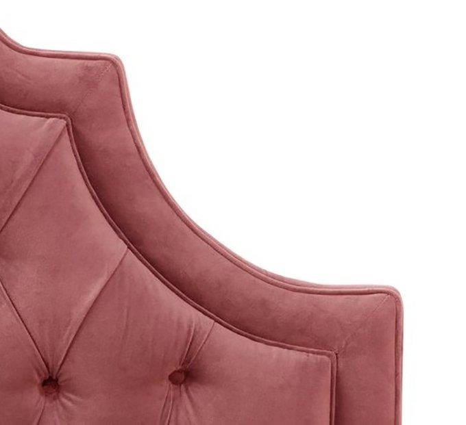 Кровать Harvey Tufted Rose Velvet 160х200