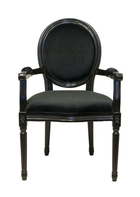Стул Diella black velvet