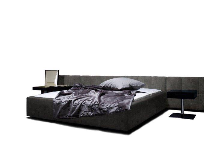 DG-HOME Кровать Ohen Black-Grey