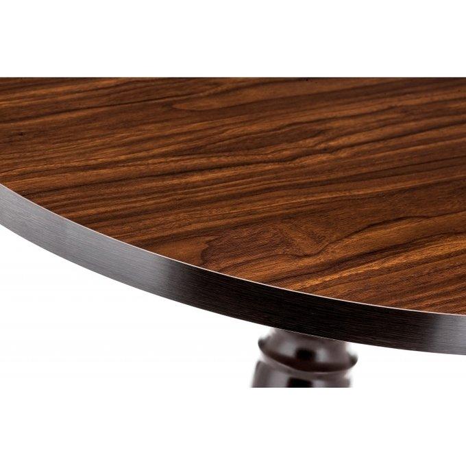 Обеденный стол Вилмар темное дерево