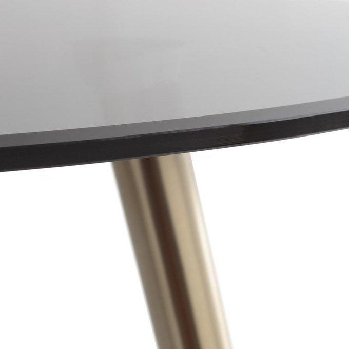 Обеденный стол Topim с стеклянной столешницей
