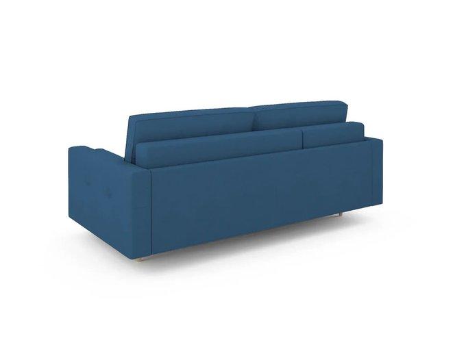 Диван-кровать Отто левый синего цвета