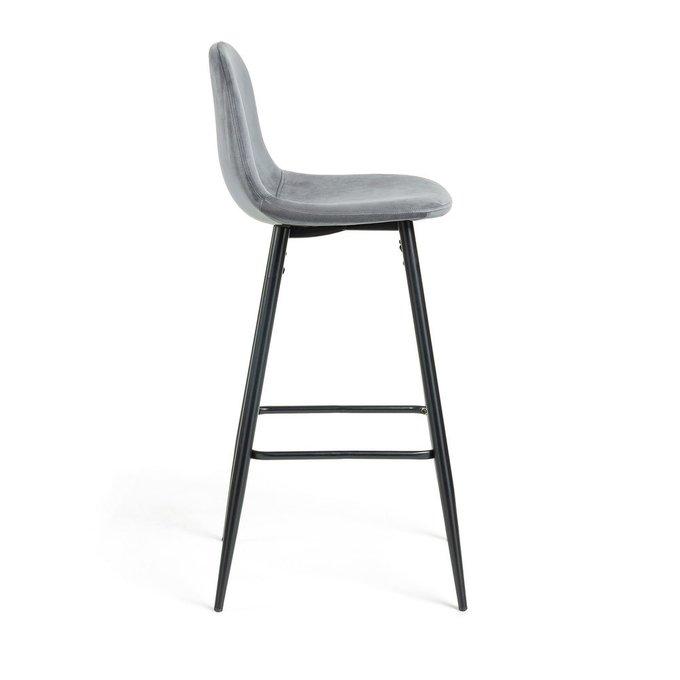 Барный стул Nilson темно-серого цвета