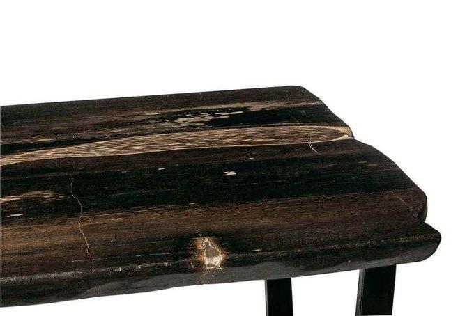 Обеденный стол Бинтау из окаменелого дерева 381102