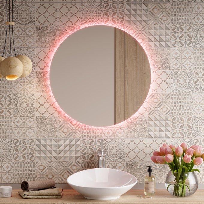Настенное зеркало Нeo с подсветкой