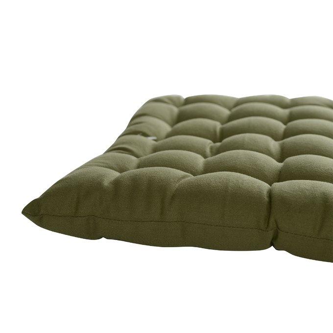 Подушка на стул Wild оливкового цвета