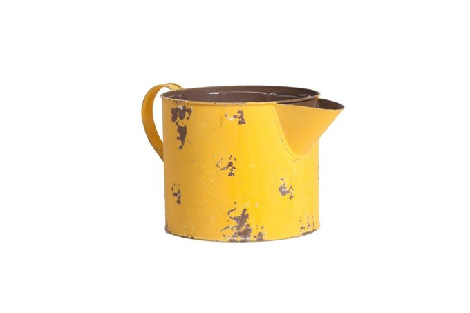 Декоративное кашпо Smash Small Yellow