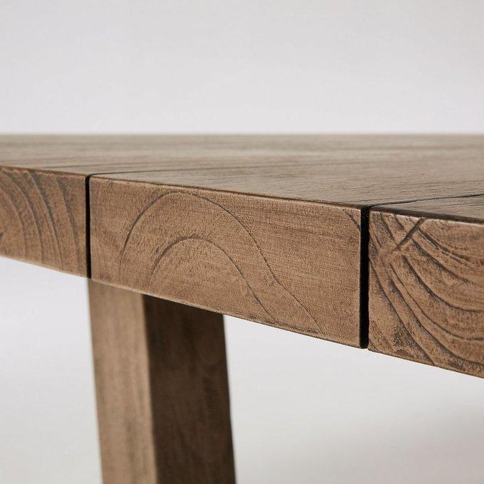 Обеденный стол Кomet из массива тикового дерева