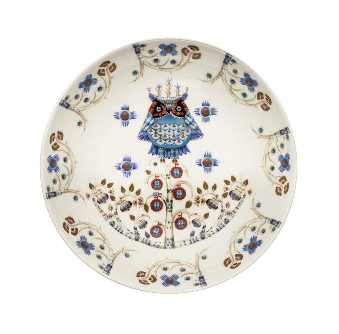 Тарелка глубокая Taika из фарфора