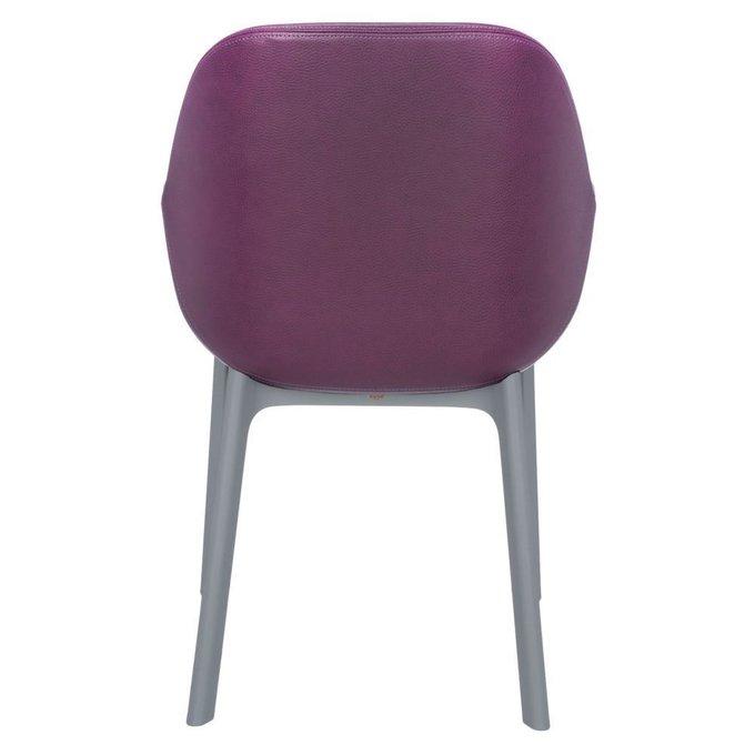 Стул Clap серо-фиолетового цвета