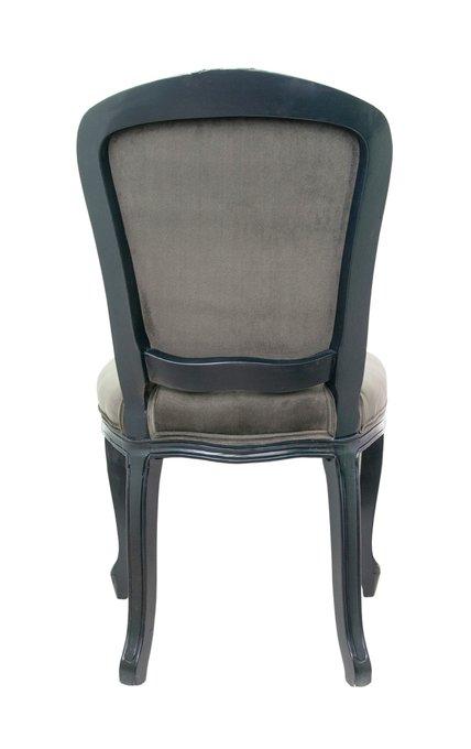 Обеденный стул Gran grey с серой обивкой