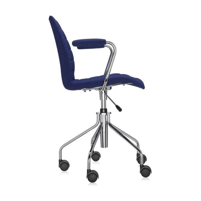 Офисный стул Maui Soft синего цвета