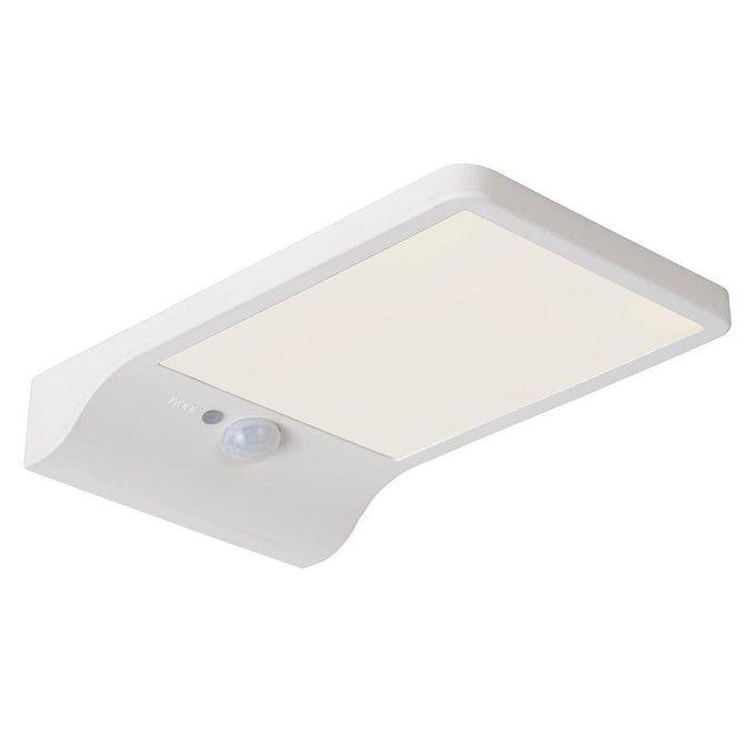 Светильник на солнечных батареях Basic белого цвета