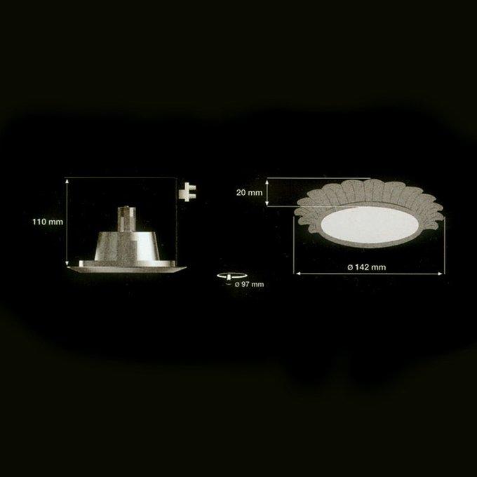 Встраиваемый светильник Martinez Y Orts для освещения актовых и приемных залов