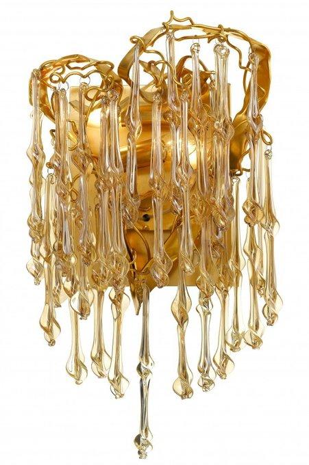 Бра Salice золотистого цвета