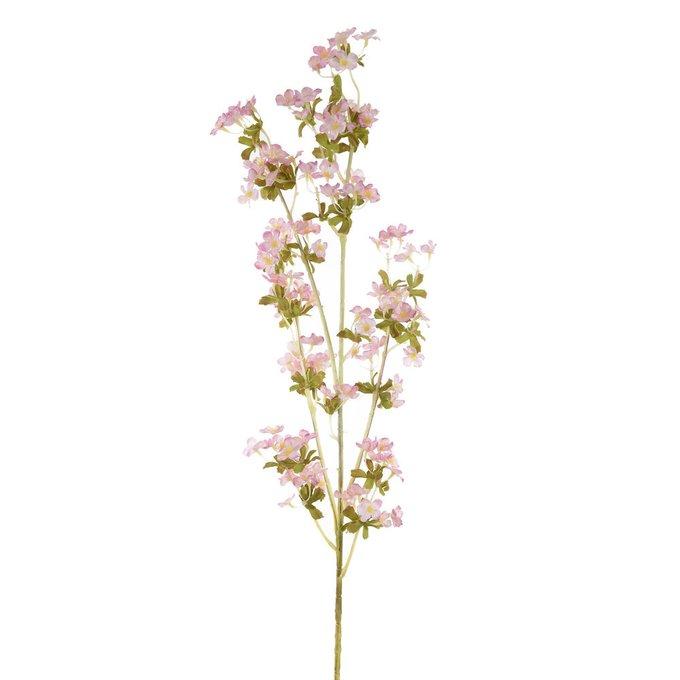 Искусственный цветок с розовыми соцветиями