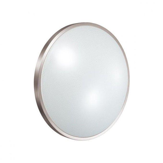 Настенно-потолочный светодиодный светильник Lota Nickel