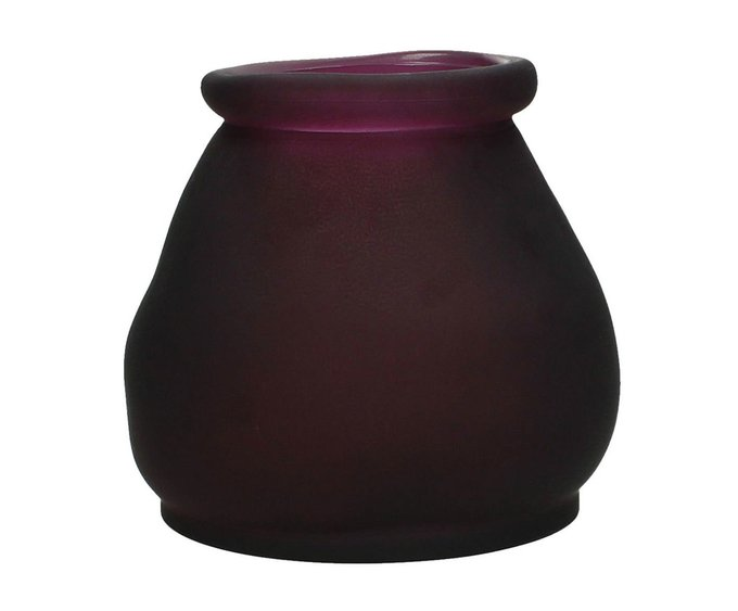 Набор из двух ваз пурпурного цвета