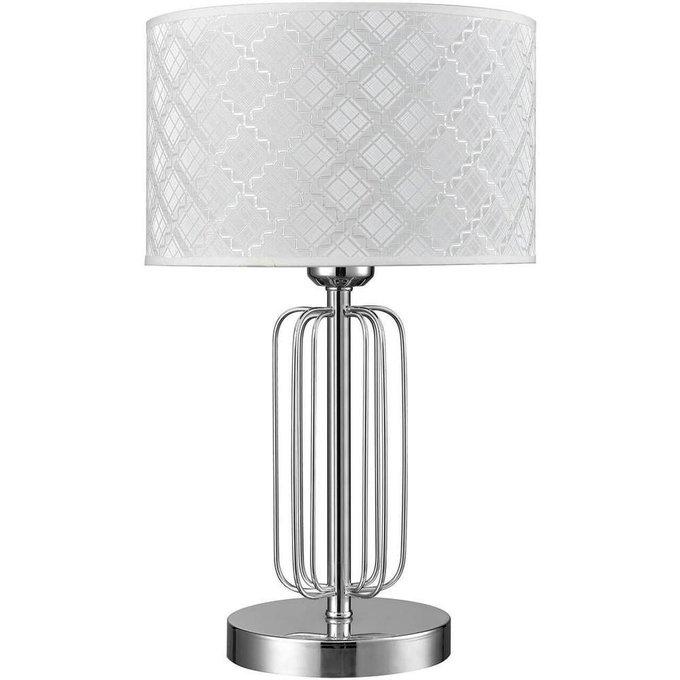 Настольная лампа Fillippo с белым абажуром
