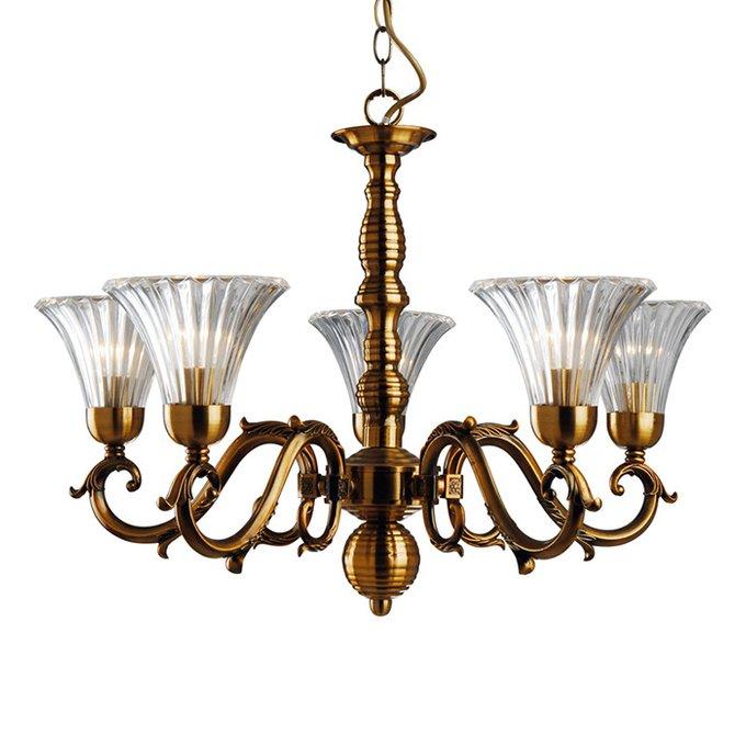 Подвесная люстра Arte Lamp Lancaster в классическом стиле