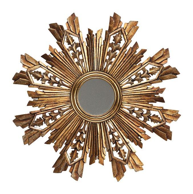 Зеркало Solstice Vintage Золотое