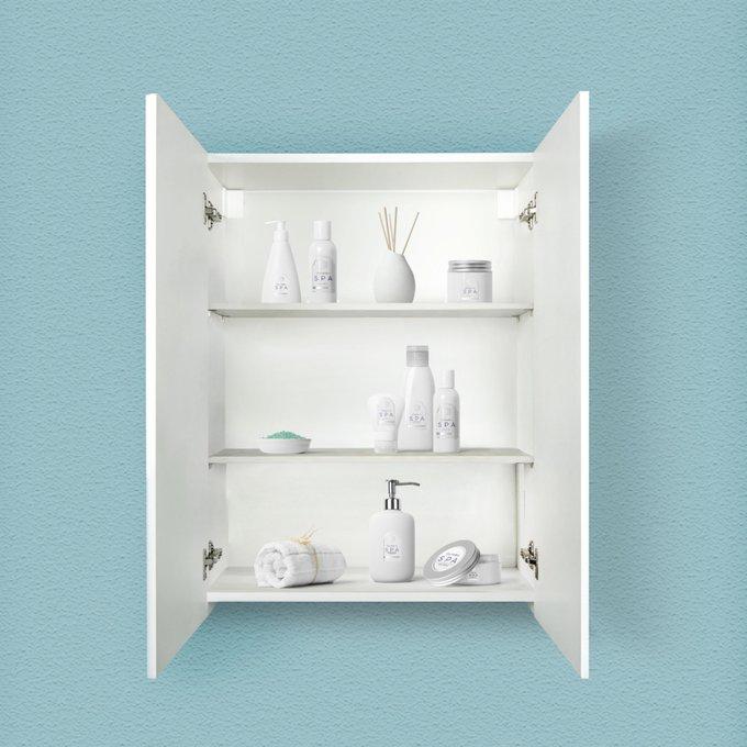 Шкаф универсальный Soft 60 белого цвета