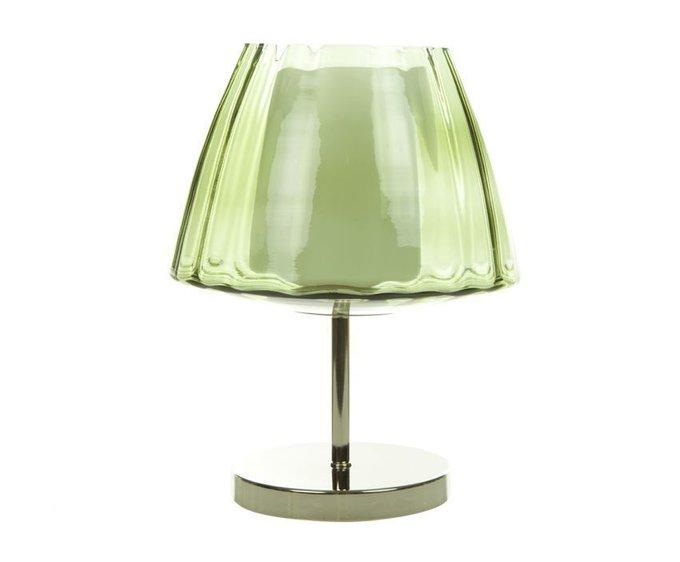 Настольная лампа Crisbase с плафоном из стекла