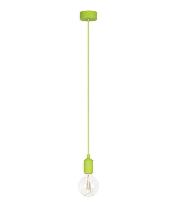 Подвесной светильник Silicone зеленого цвета