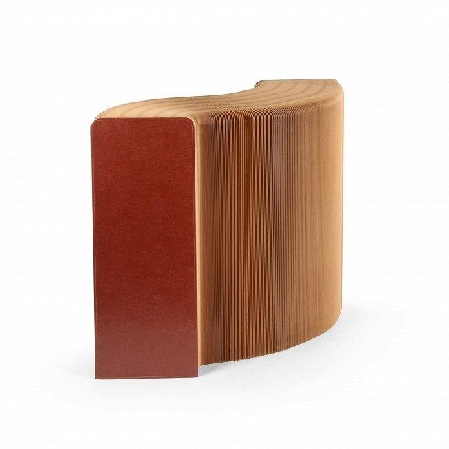 Полка бумажная коричневая
