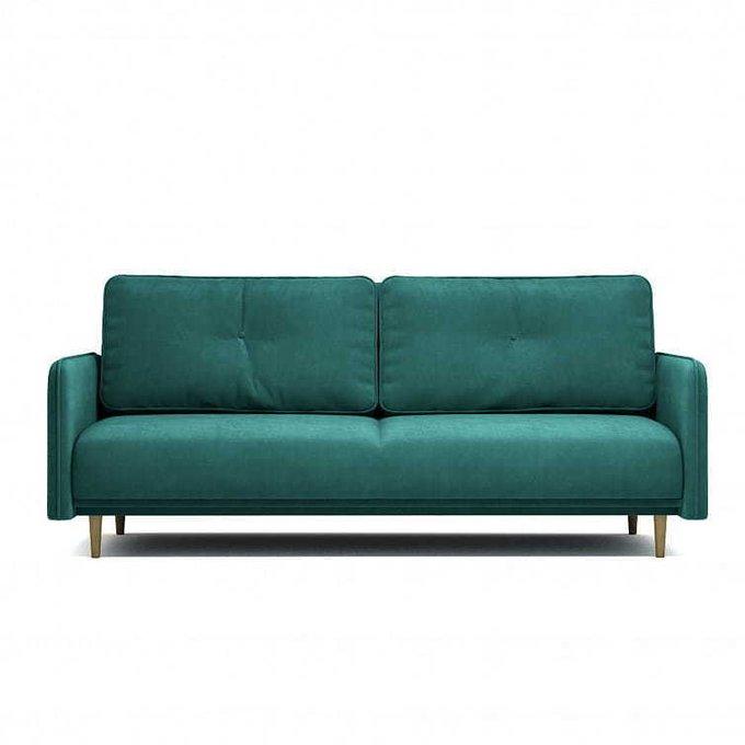 Диван-кровать Блумбер зеленого цвета