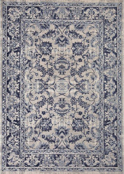 Ковер Tebriz сине-серого цвета 160х230