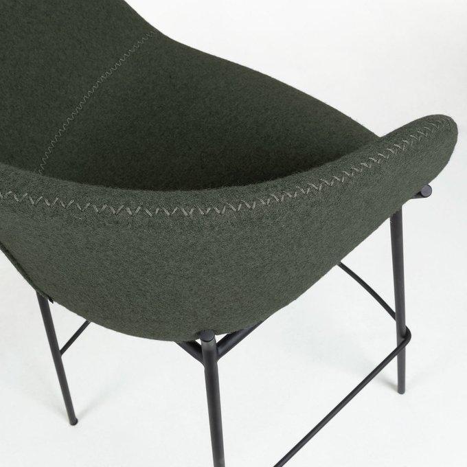 Барный стул Zadine зеленого цвета