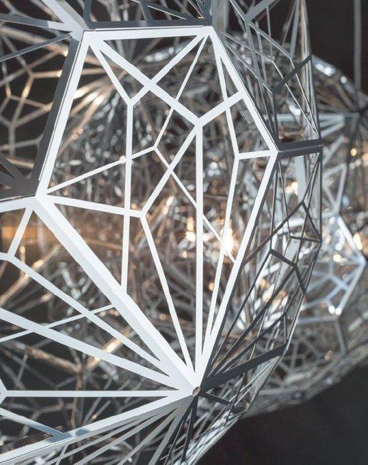 Подвесной светильник Etch Web   chrome