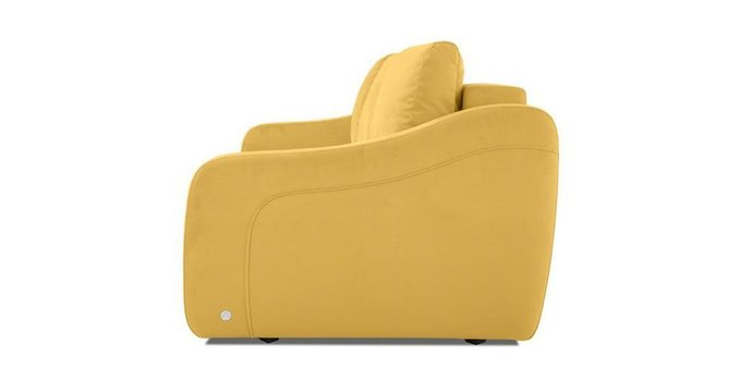 Прямой диван-кровать Иден желтого цвета