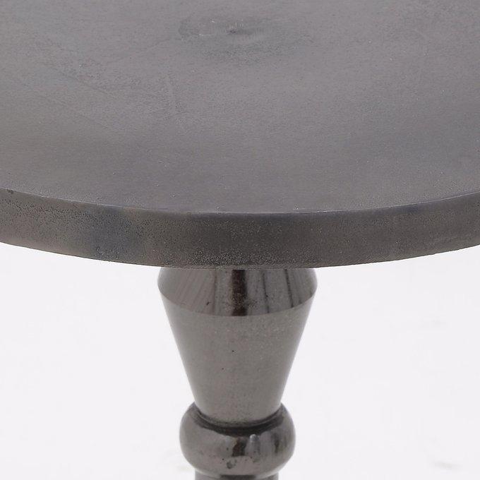 Кофейный стол из алюминия черного цвета