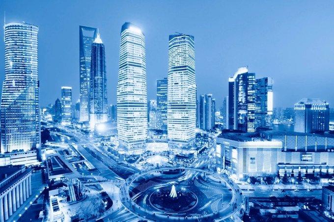 Дизайнерские обои Night in Shanghai