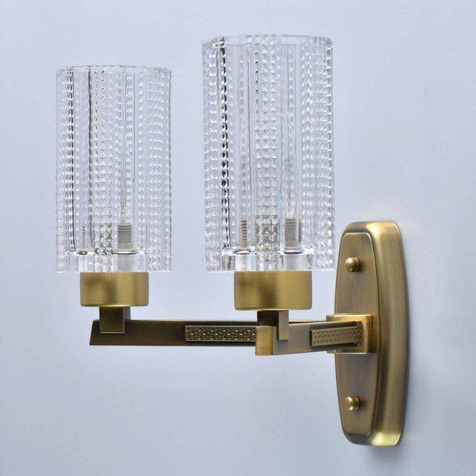 Бра Альгеро с прозрачными плафонами