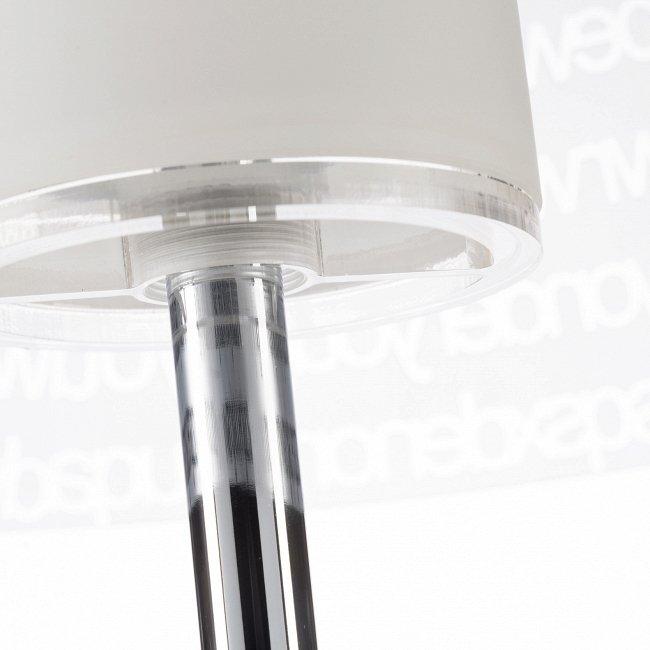 Напольный светильник ABC со стеклянным абажуром