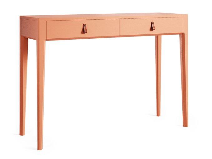 Консольный стол Case оранжевого цвета