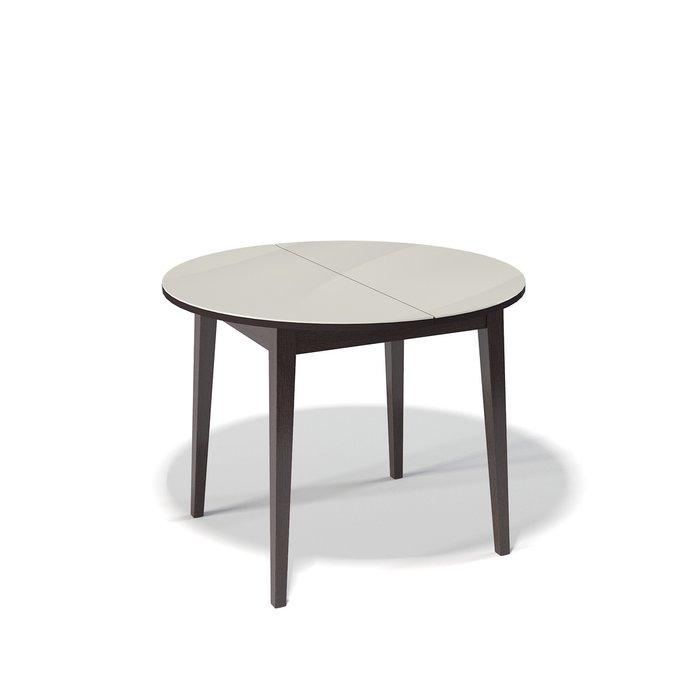 Стол обеденный Spot раздвижной цвета крем глянец